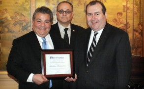 Attorney Andrey Filipowicz Receives the 2012 Jeffery M. Leving Child Protection Award